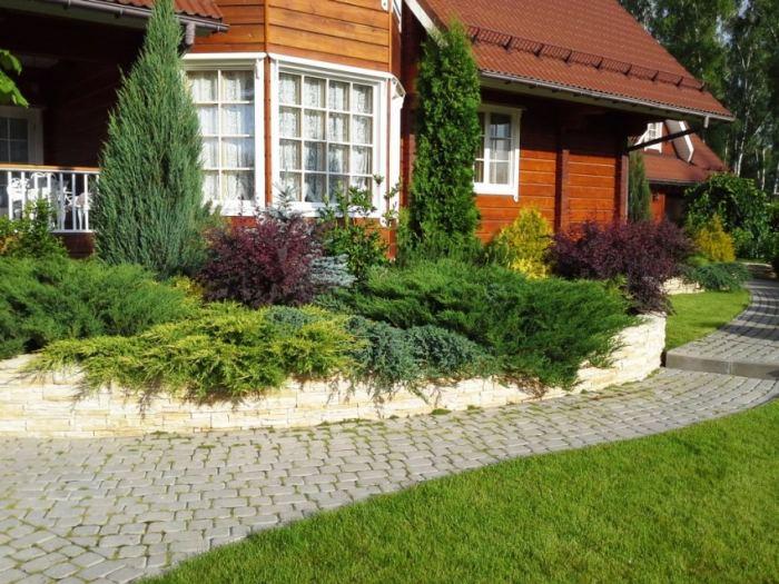 Дизайн загородного участка своими руками фото 424