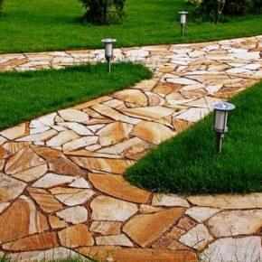 Бетонные дорожки – пошаговые инструкции по укладке и советы по выбору дизайна садовых дорожек из бетона (125 фото)