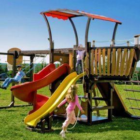 Детские площадки на даче: 175 фото идей постройки своими руками. Выбор конструкций и дизайна детской площадки