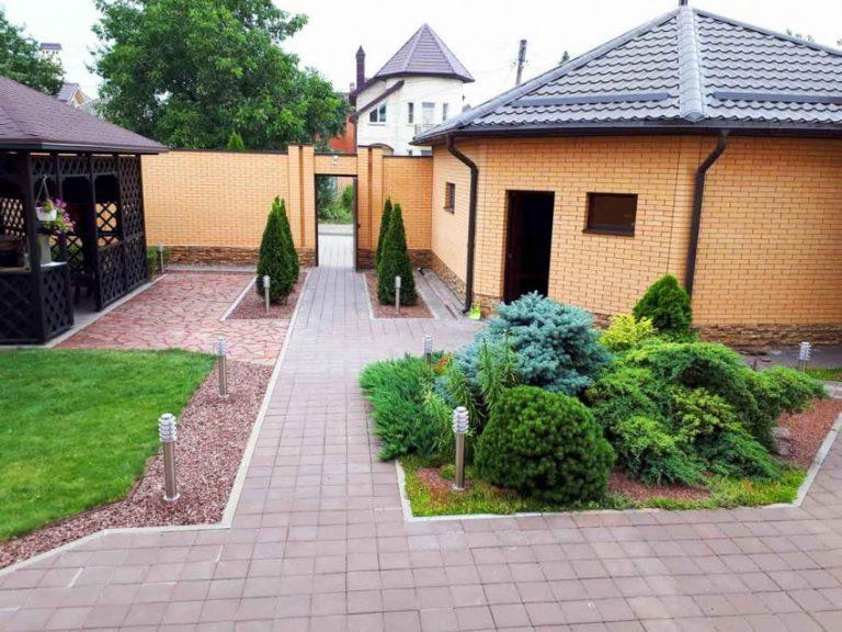 целлюлит фото дизайна частного двора дерева как отделочный