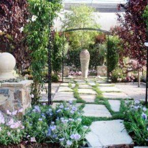 Дизайн сада на даче: основы ландшафтного дизайна и советы как оформить своими руками сад. 180 фото простых и красивых идей