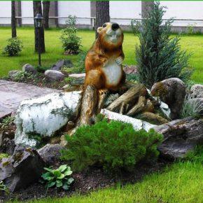 Фигурки для сада своими руками: мастер-класс создания красивого украшения. 170 фото идей и правила размещения
