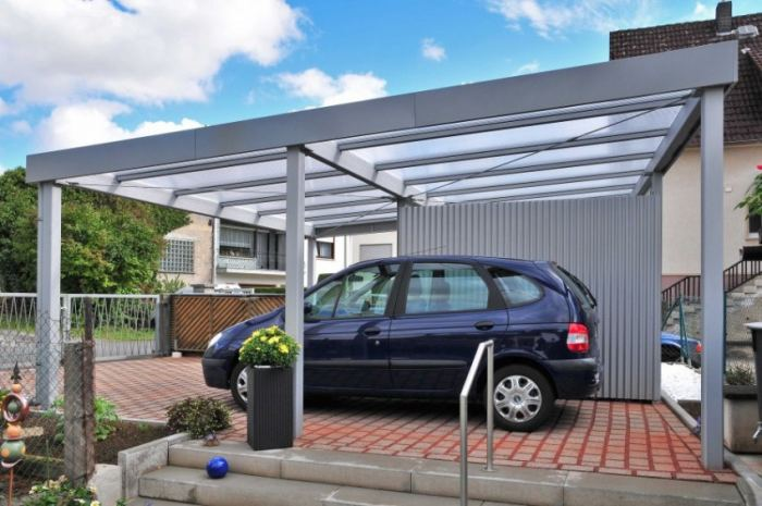 Парковка в ландшафтном дизайне