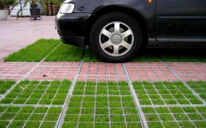 Обустройство парковки автомобилей