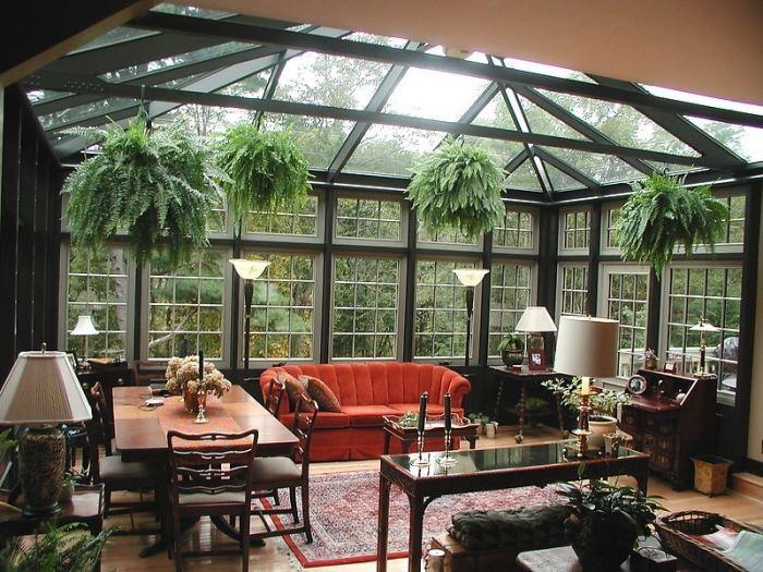 Как создать зимний сад в доме