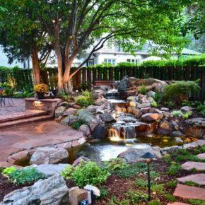 Как оформить задний двор – 140 фото идей и вариантов современного оформления для частного дома