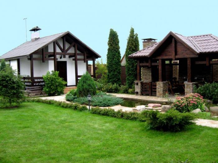 Декор для сада и дачи (57 фото): декоративные элементы из дерева своими руками, декорации для садового участка, идеи