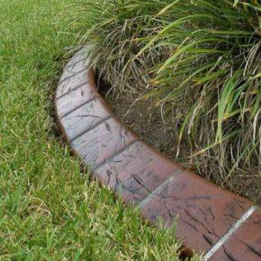 Декоративный бордюр: особенности установки и варианты подбора ограждений в дизайне сада и огорода (110 фото)