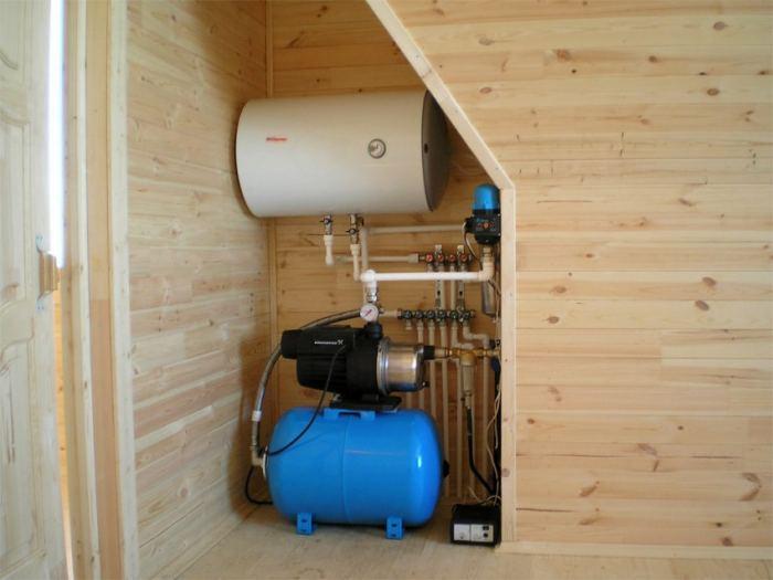 Водопровод на даче своими руками из колодца: простая схема водоснабжения, как сделать