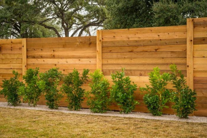 Виды деревянных заборов для дачи