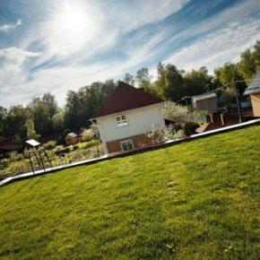 Как сделать газон на даче своими руками – подробная инструкция пошагового обустройства газона (145 фото-идей)
