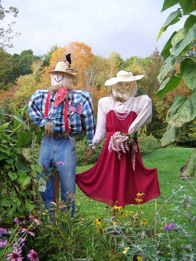 Как сделать пугало своими руками в огород фото 238