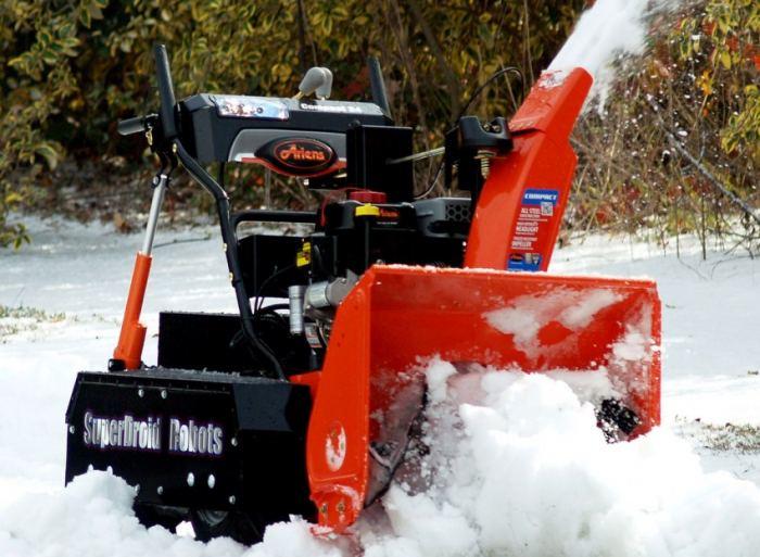 Когда на участке завал снегоуборочная машина своими руками
