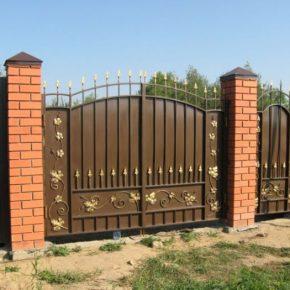Как сделать ворота из профнастила своими руками – пошаговая инструкция по установке. 135 фото, схем, эскизов и чертежей ворот