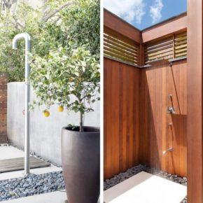 Летний душ: 130 фото идей как сделать удобный и красивый открытый душ для сада, дома и дачи