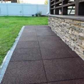 Отмостка вокруг дома – постройка и варианты оформления современной отмостки для дома и садовых строений (145 фото-идей)