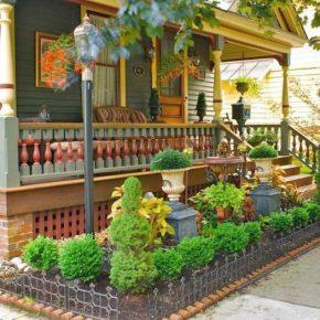 Палисадник перед домом – идеи дизайна и советы как разбить палисадник на участке правильно (160 фото)