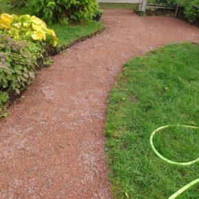 Садовая дорожка своими руками: фото, инструкции, выбор материалов и инструментов