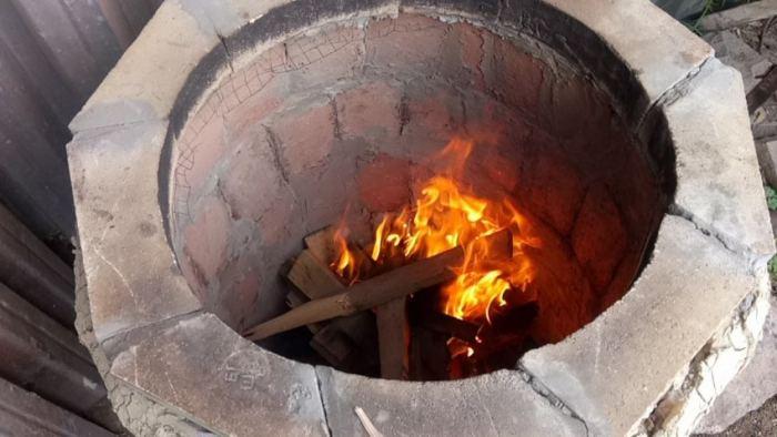 Тандыр из кирпича – 150 фото и пошаговая инструкция как сделать своими руками простое устройство для готовки на огне
