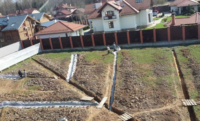 Инструкция как осушить участок: простые варианты, системы и способы отвода воды от участка