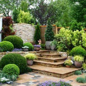 Стили ландшафтного дизайна: 105 фото применения различных идей дизайна для сада, участка и придомовых территорий