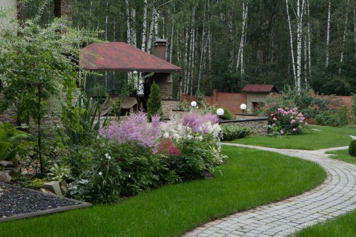Ландшафтный дизайн участка – стили, фото