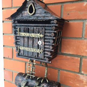 Как сделать почтовый ящик своими руками – делаем стильный ящик для частного дома. 100 фото-идей и проектов