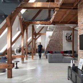 Обустройство, планировка и дизайн мансарды в частном доме (80+ фото)