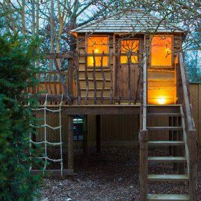 Как сделать домик на дереве для детей своими руками