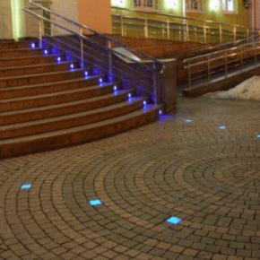 Светящаяся тротуарная плитка – что это такое?